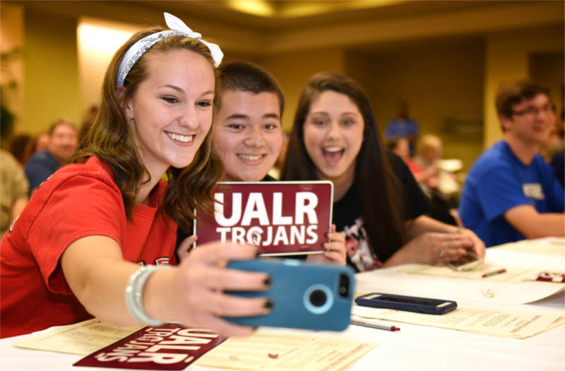 CLC Signing Day at Donaghey Student Center on the UALR campus on May 8, 2015.